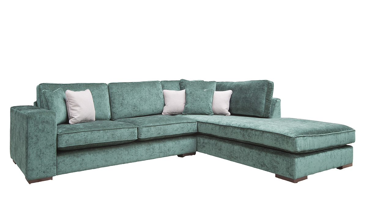 Colorado Corner RHF Chaise Sofa in Customers Own Fabric