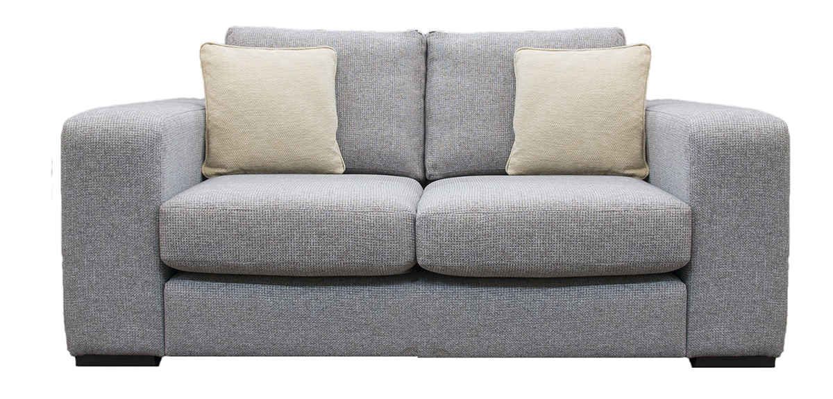 Colorado 4ft 6 Sofa Bed in  Milwaukee Grey Side