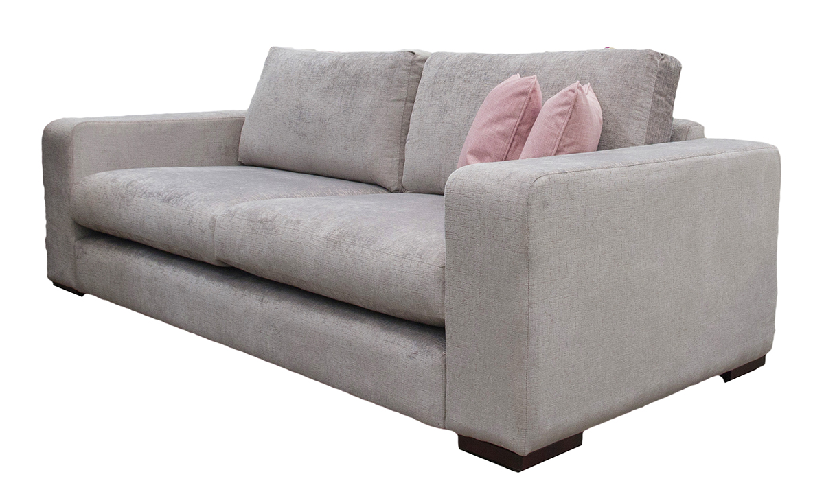 Colorado Large Sofa in 14057, Bronze Fabric
