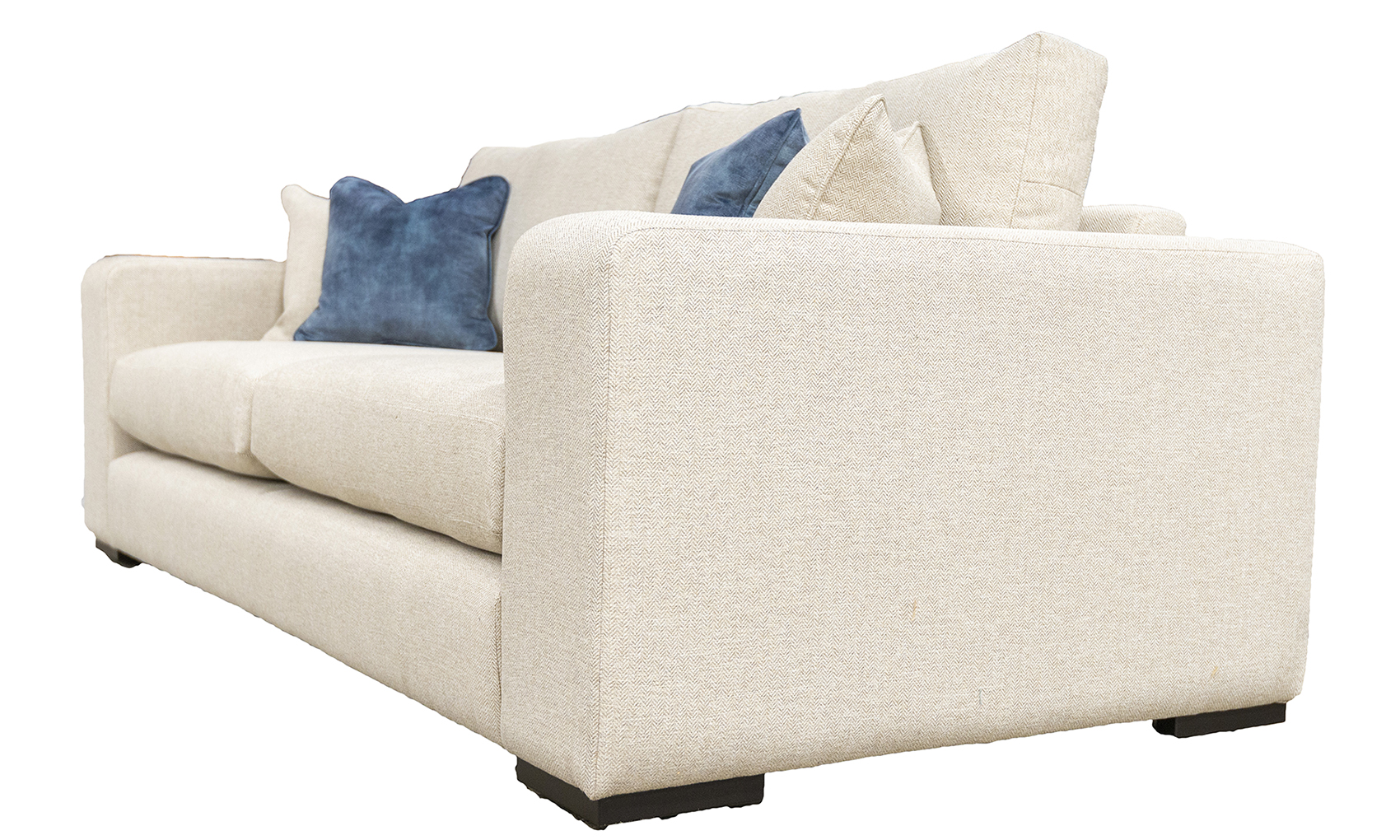 Colordao 3 Seater Sofa in Port Honey, Silver Collection Fabric