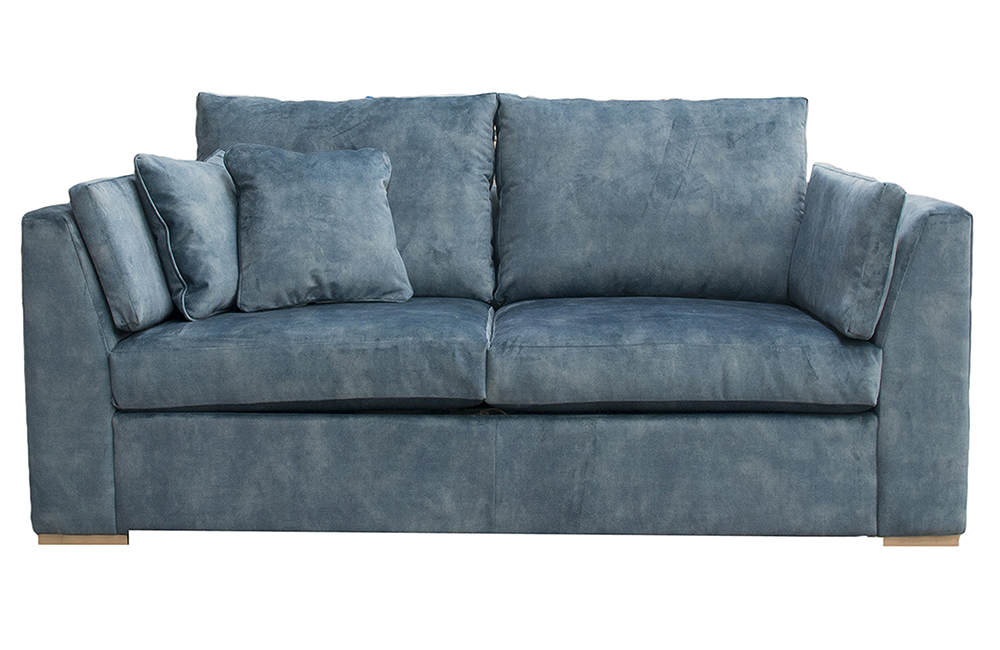 Como Small Sofa in Lovely Ocean Gold Fabric Collection