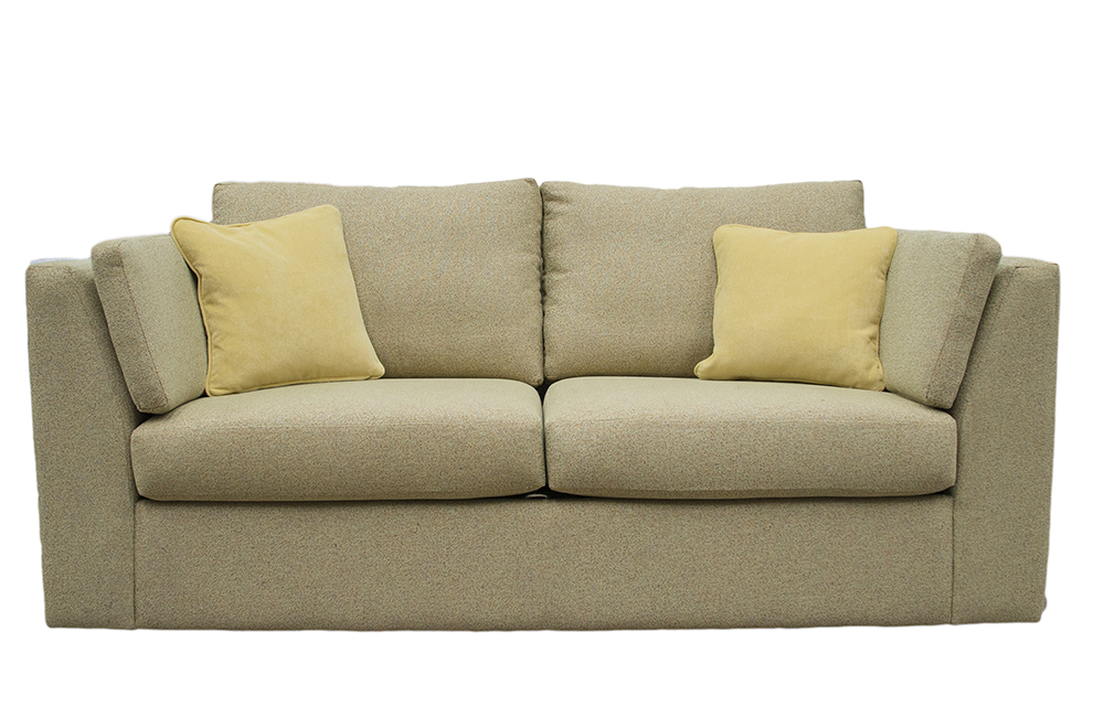Como Small Sofa in  Belize Pistachio, Bronze Fabric Collection