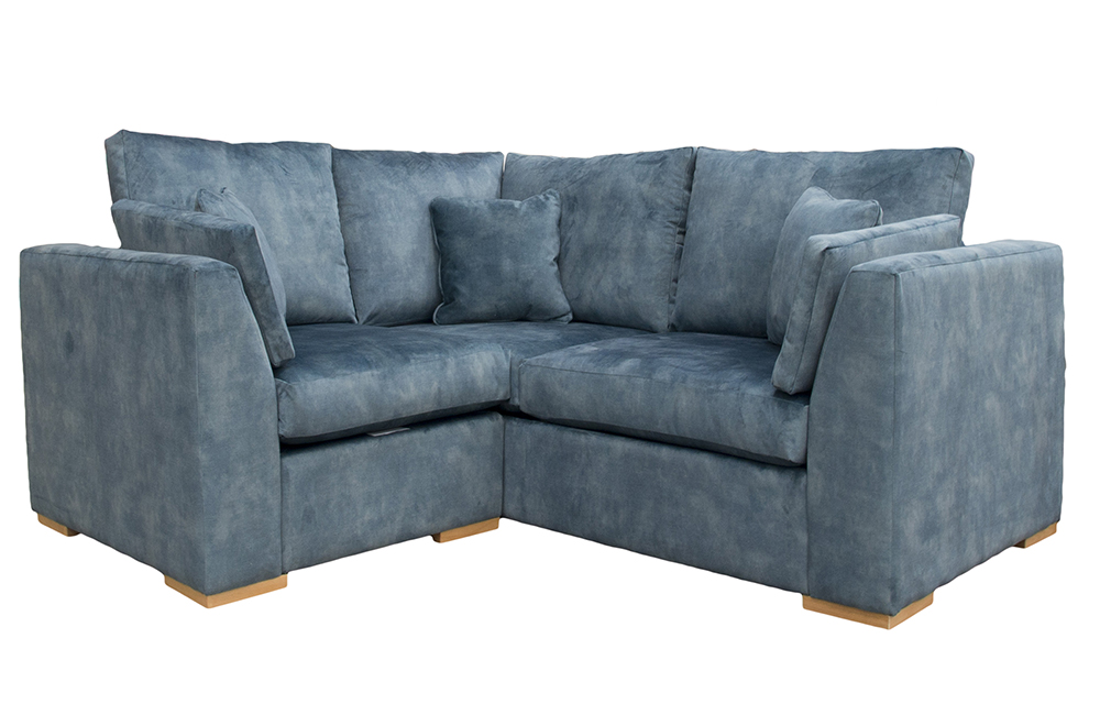 Bepoke Como Corner Sofa in Lovely Ocean Gold Collection