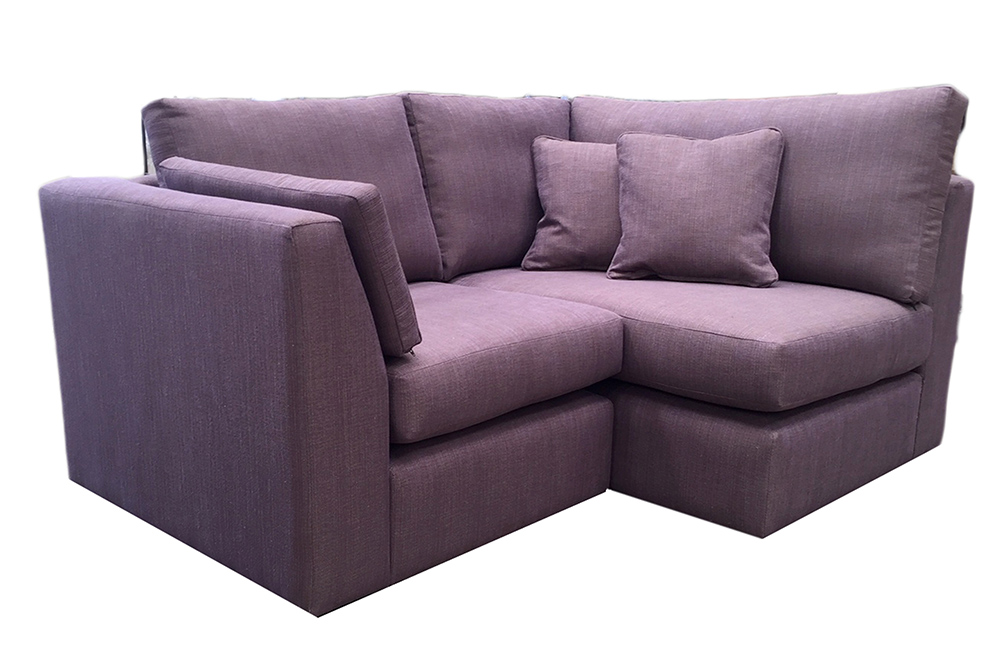 Bespoke Size Como Corner Sofa  in a Discontinued Fabric
