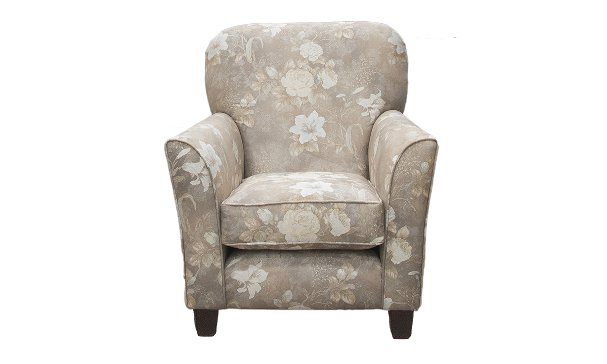 Dylan Chair in Oasis Pattern Pewter