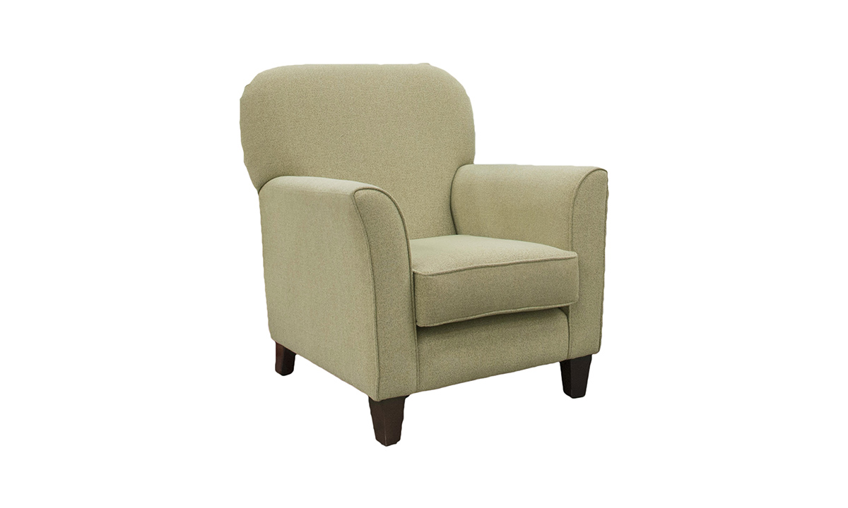 Dylan Chair in Belize Seacrest, Bronze Collection Fabric