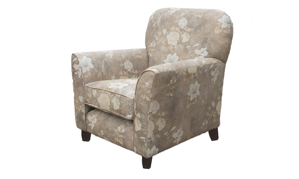Dylan Chair in Oasis Pattern Pewter,