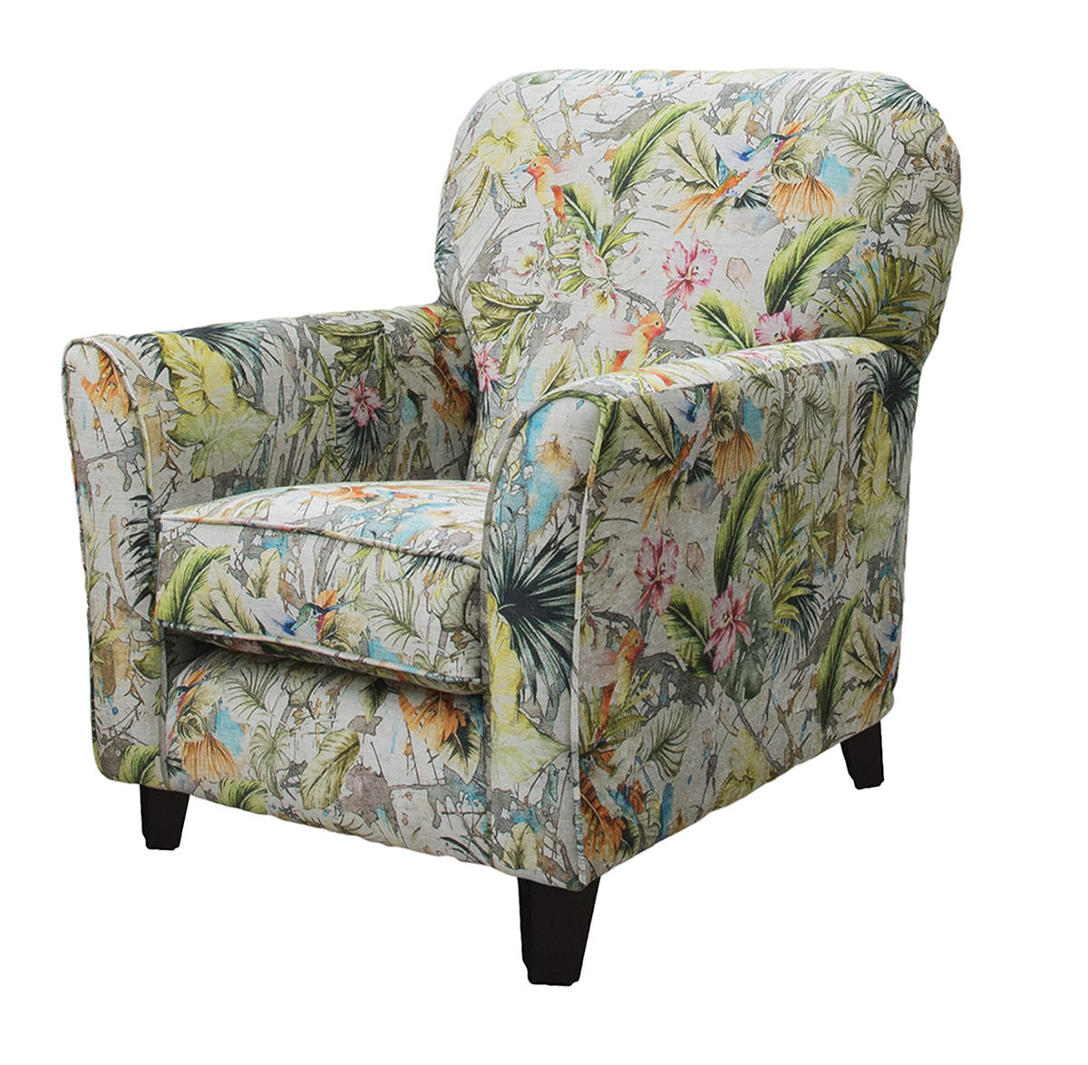 Dylan Chair  Side - Paradise Multi