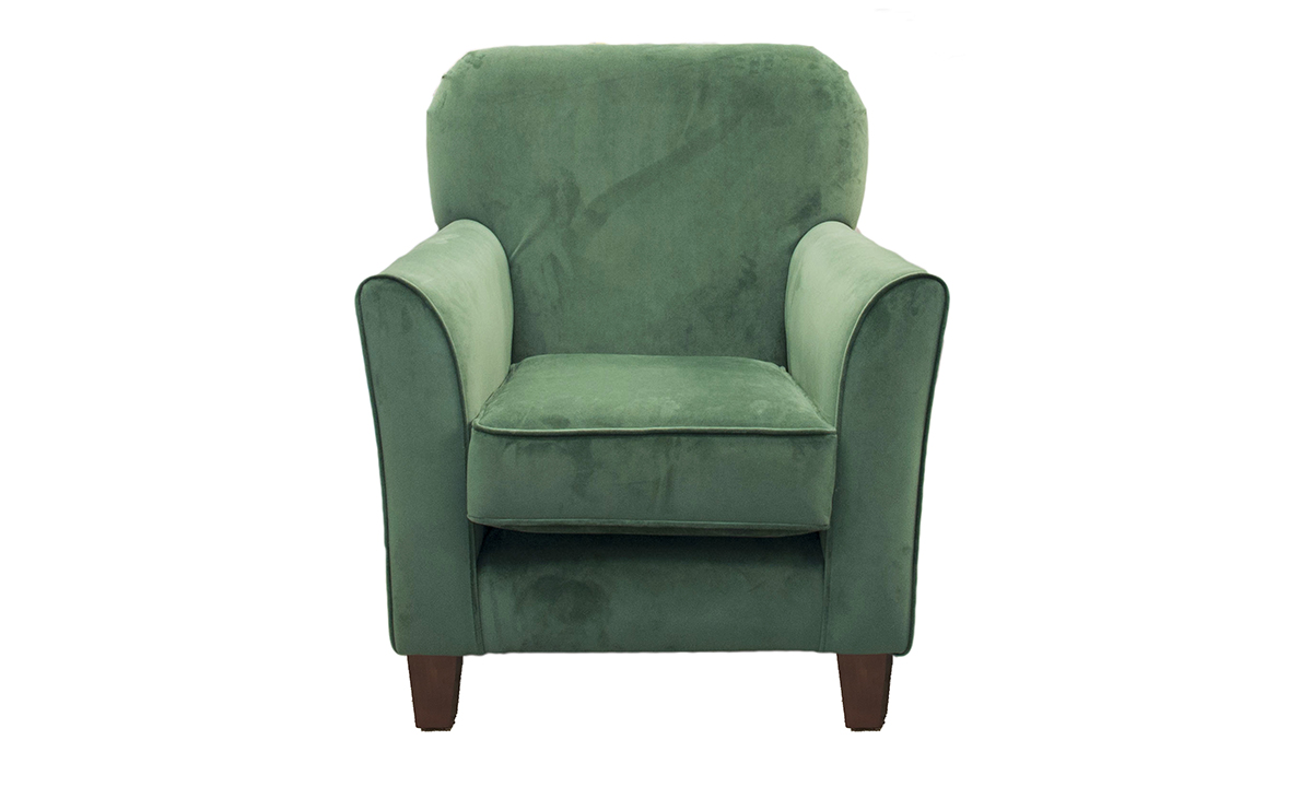 Dylan Chair in Warwick Plush Shamrock, Platinum  Collection Fabric