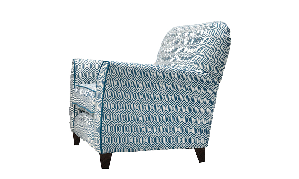 Dylan Chair in Cmarrone Gal 1930, Platinium Collection Fabric