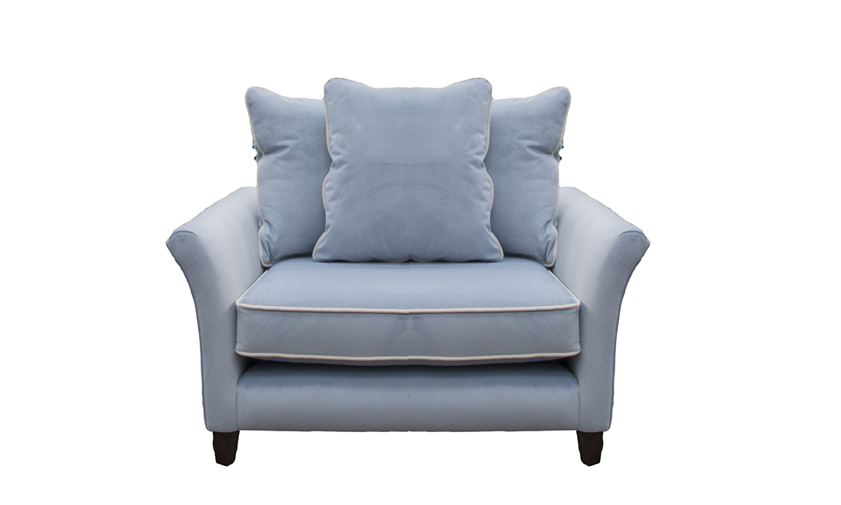 Elijah Love Seat in  JBrown Amalfi 21 Wedgewood