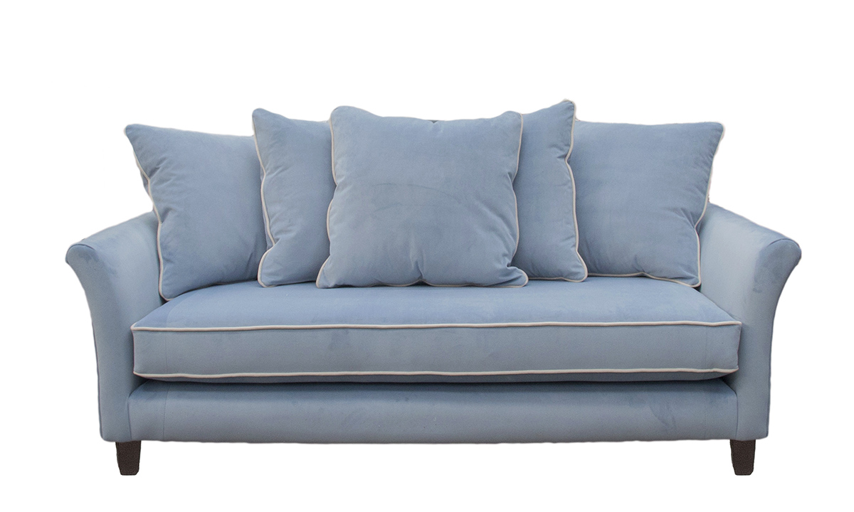 Elijah Small Sofa in JBrown Amalfi 21 Wedgewood