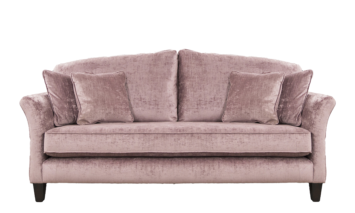 Elisha Large Sofa in Mancini Lilac, Gold Collection Fabric