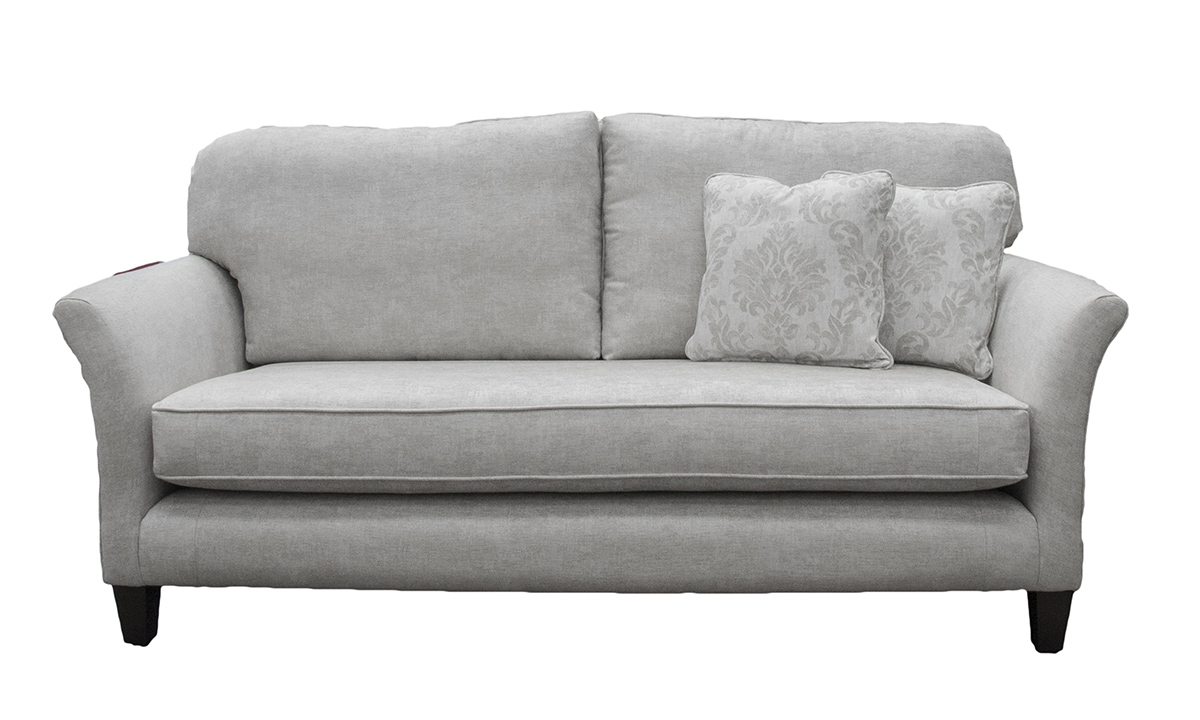 Elisha Small Sofa in Dagano Plain Linen, Bronze Collection