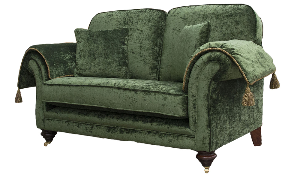 Elton Small Sofa - Modena 15127 Forest Green side