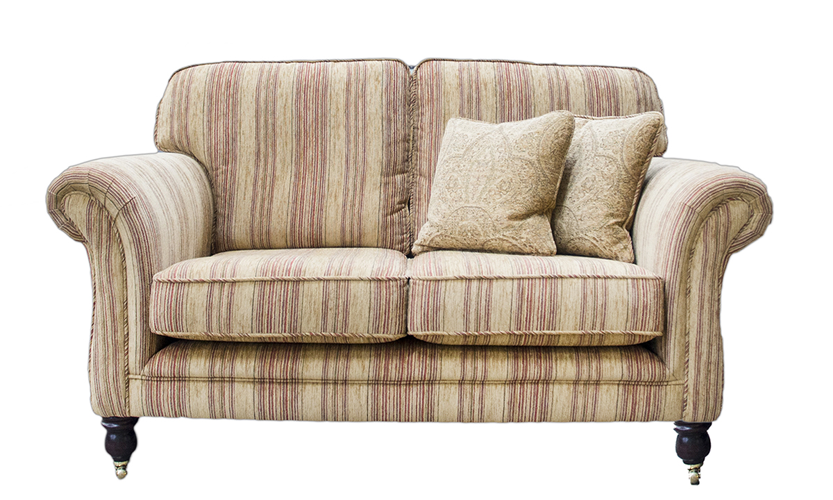 Elton Small Sofa in Silver Collection Fabric