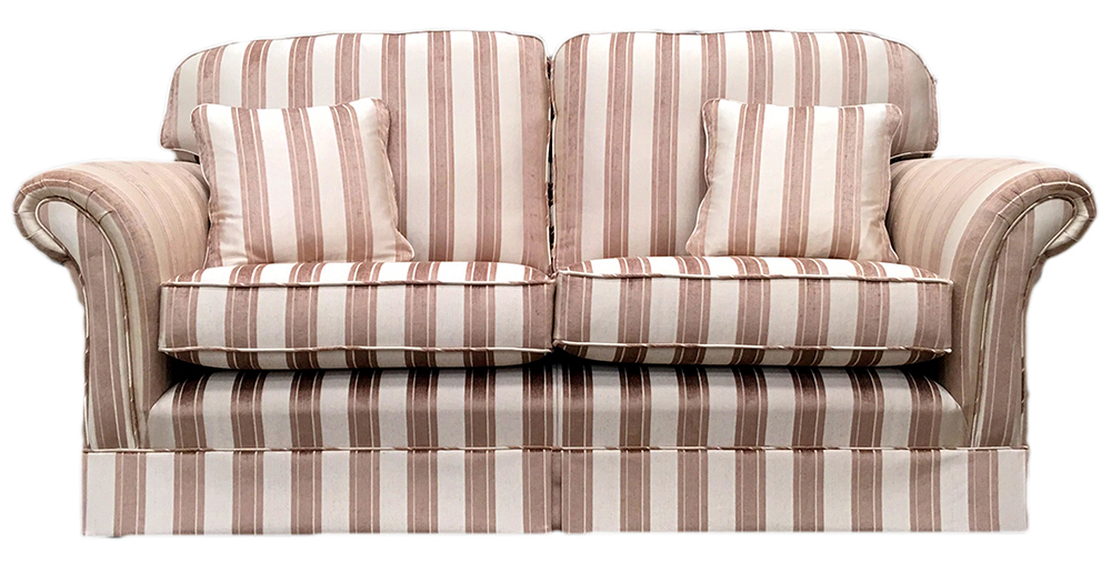 Elton Small Sofa with a skirt