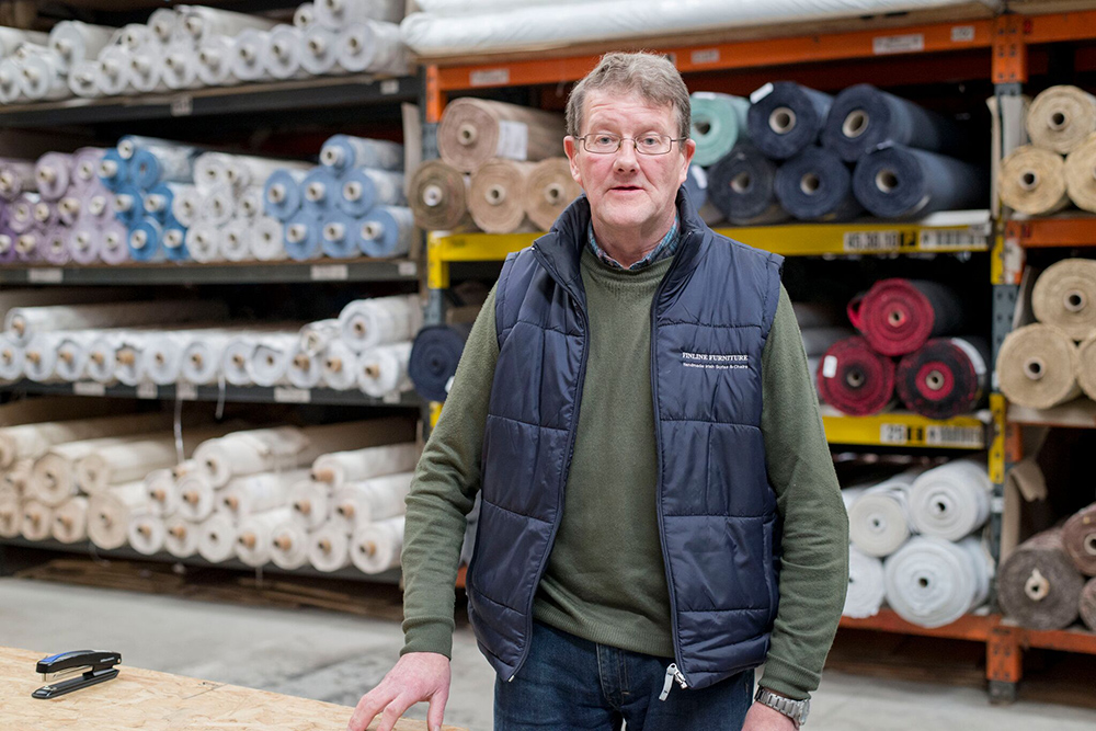 Head of Fabric Department - Tony