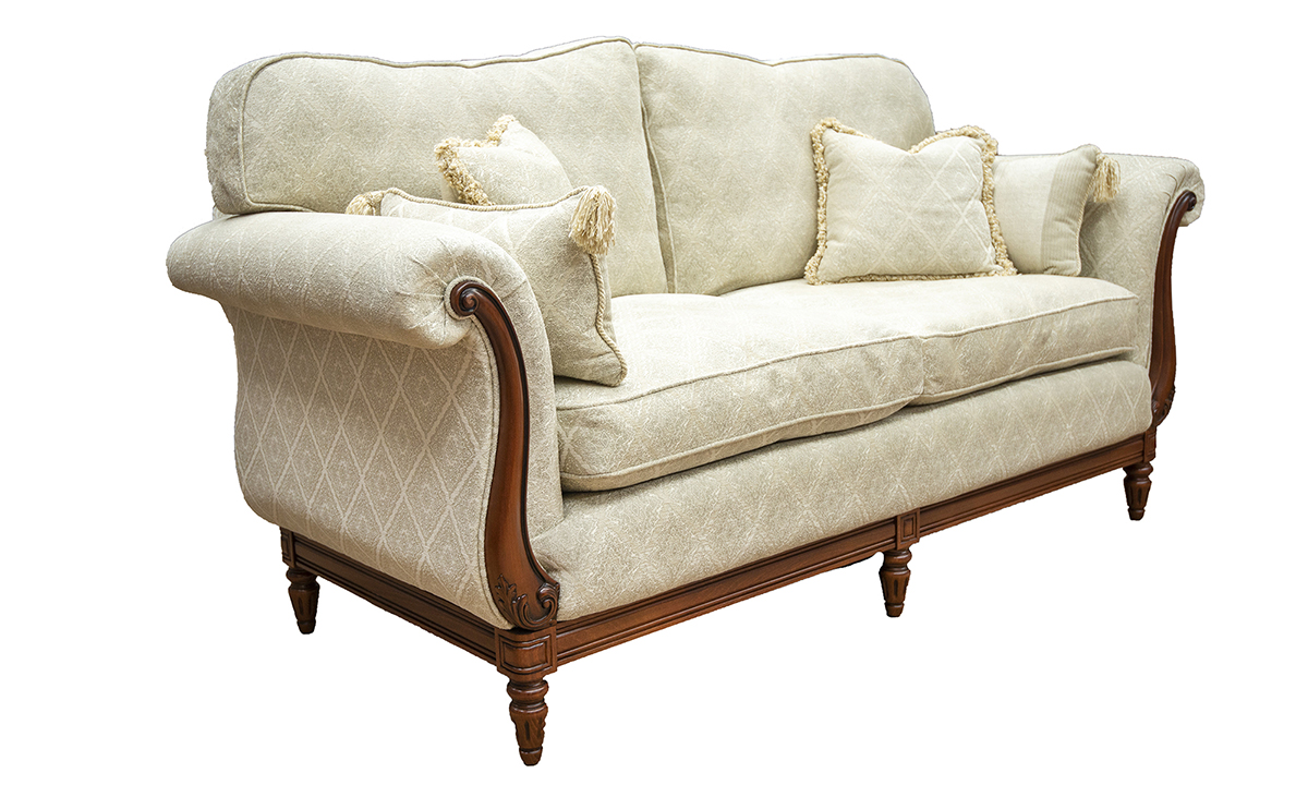 Gandon-Small-Sofa-side-in-Nebbiolo-Diamond-Hession-Platinum-Collection-Fabric
