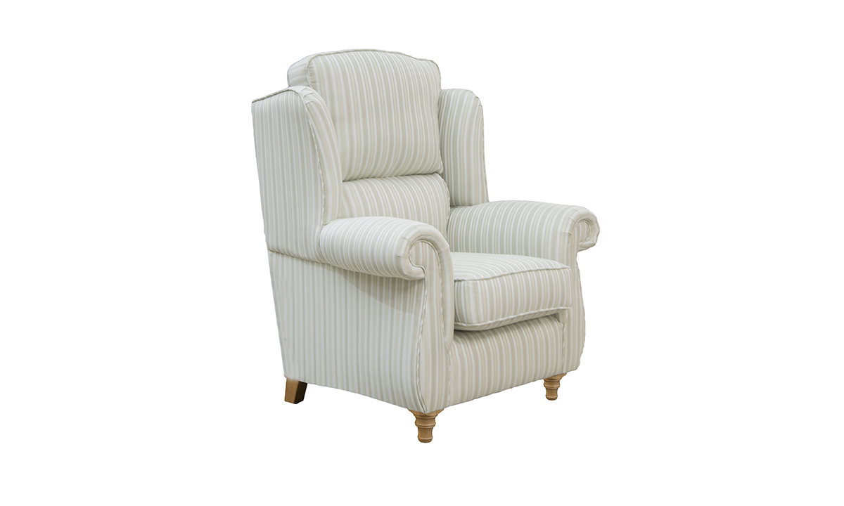 Greville Chair Side in Candy Stripe sr 12365