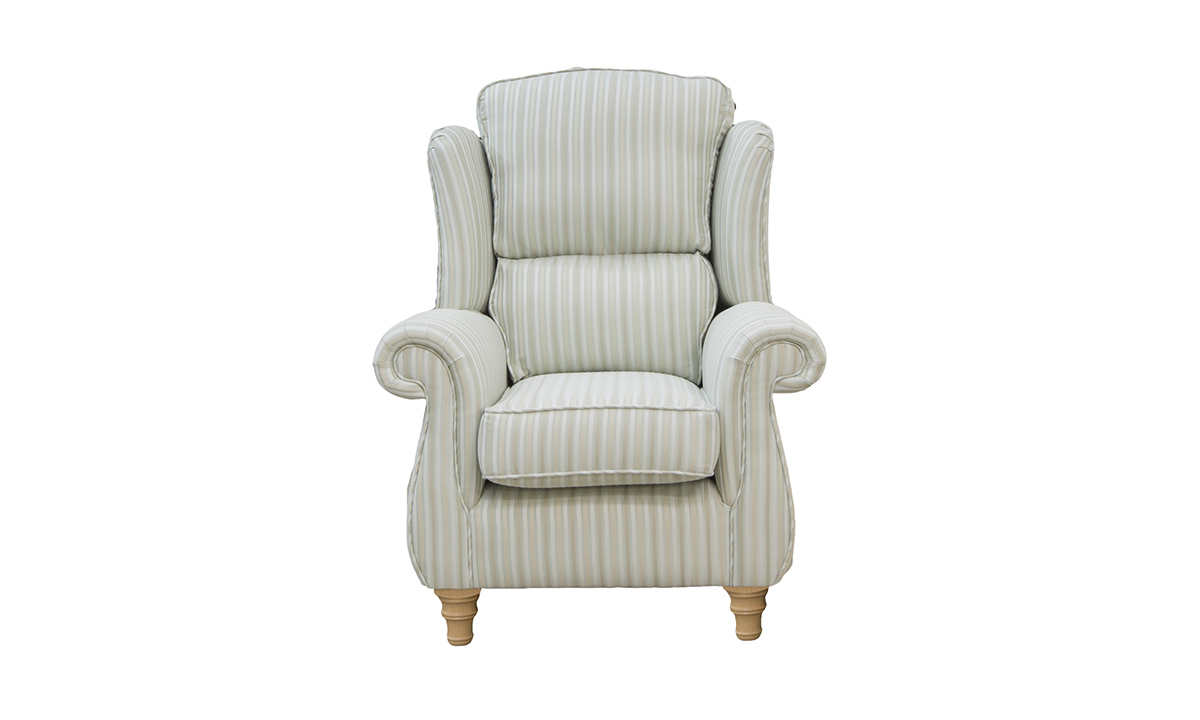 Greville Chair in Candy Stripe sr 12365