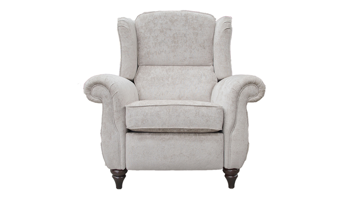 Greville Recliner Chair in Cristina Marrone Nuovo Stone 2046