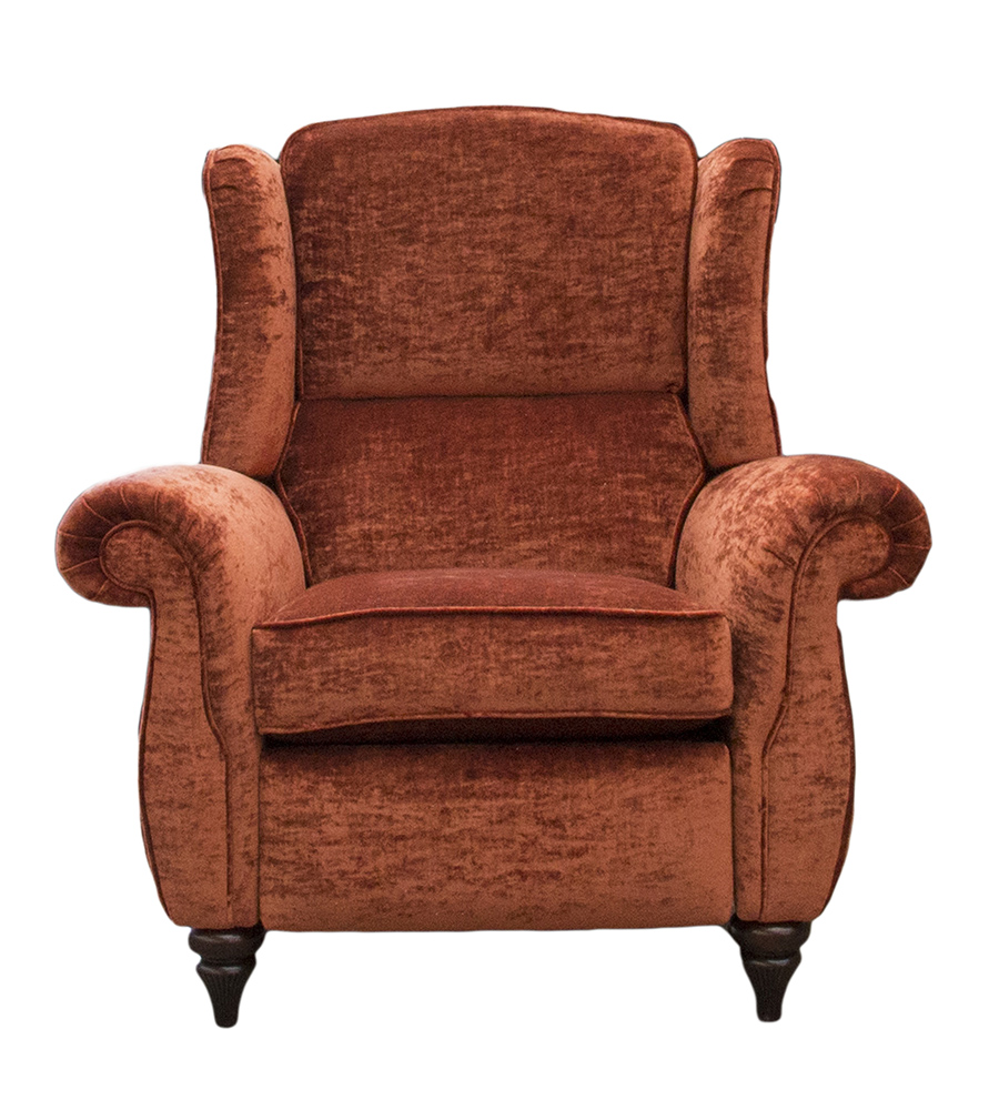 Greville Recliner Chair - JBrown Modena Terracotta 13105