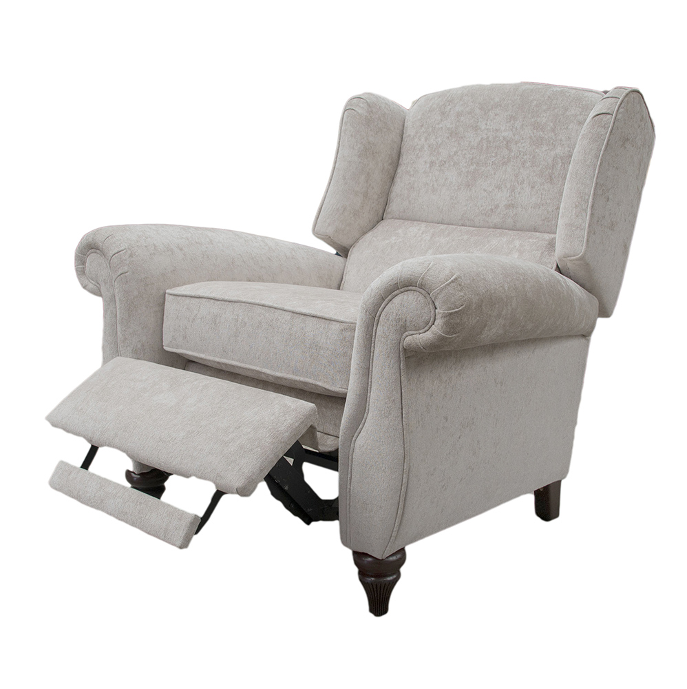 Greville Recliner Chair Open - Cristina Marrone Nuovo Stone 2046