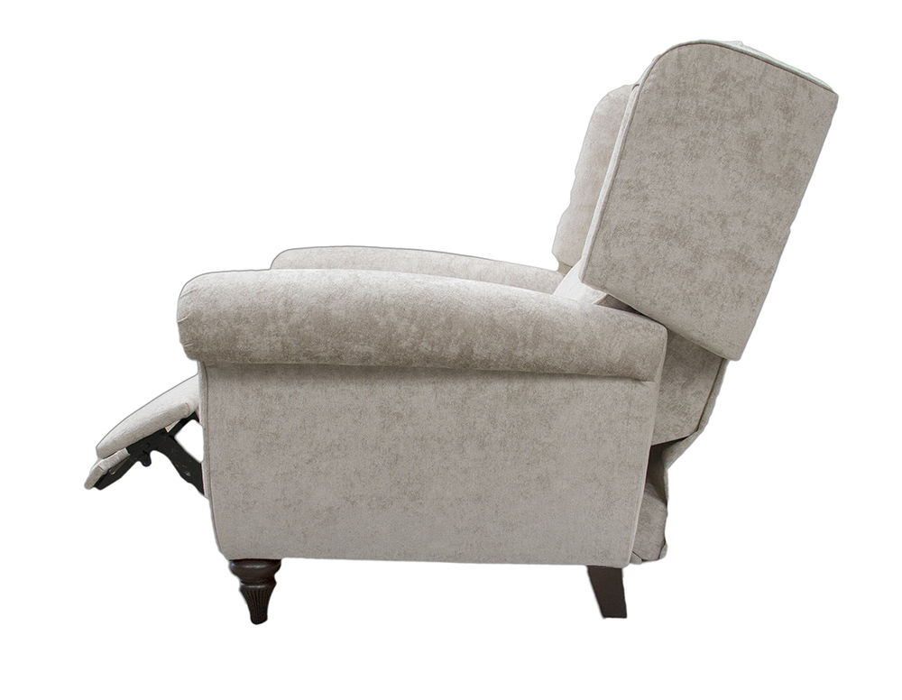 Greville Recliner Chair Open Side - Cristina Marrone Nuovo Stone 2046