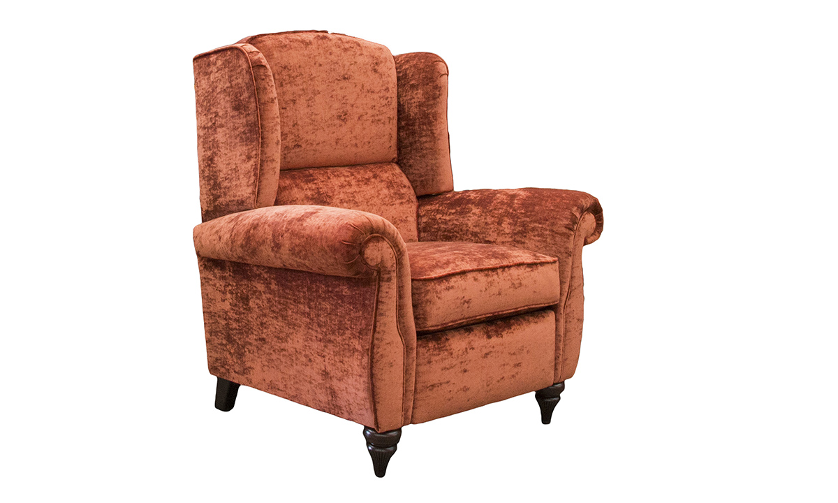 Greville Recliner Chair in  JBrown Modena Terracotta 13105