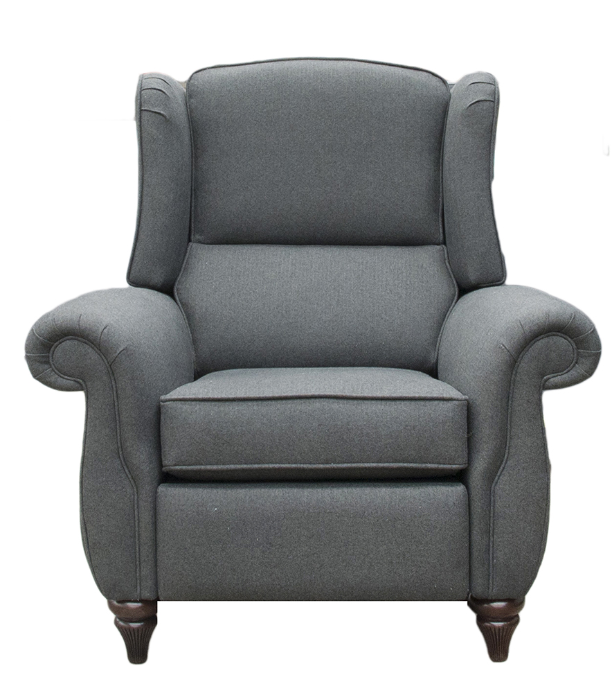 Recliner Greviile Chair - Tweed Charcoal