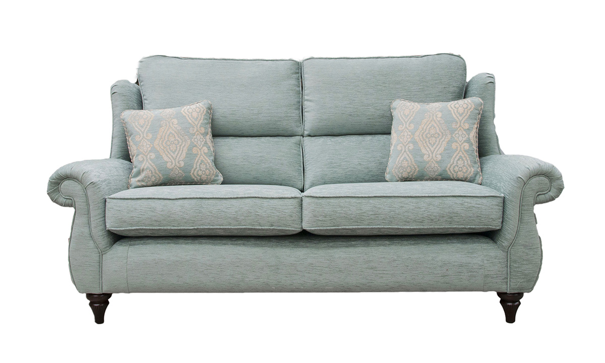 Greville Large Sofa in 17098, Bronze Collection Fabric