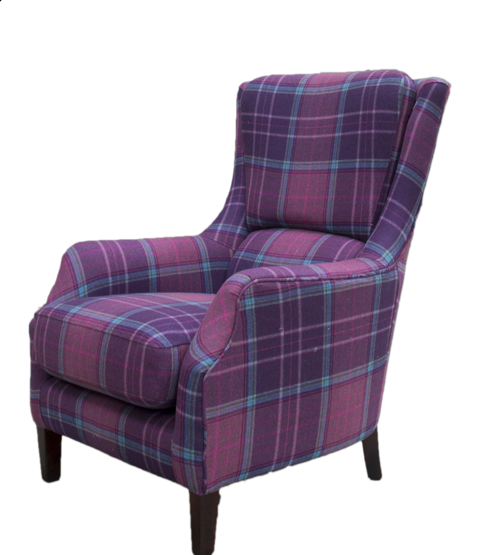 Harvard Chair - Plaid - Bronze Collection