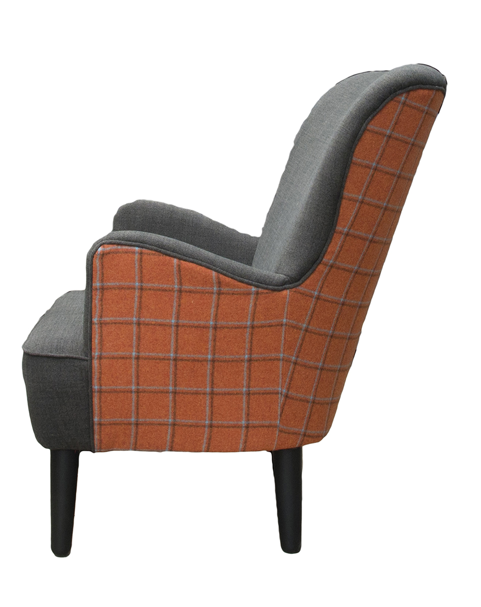 Holly Chair Side  in Customers Own Fabric