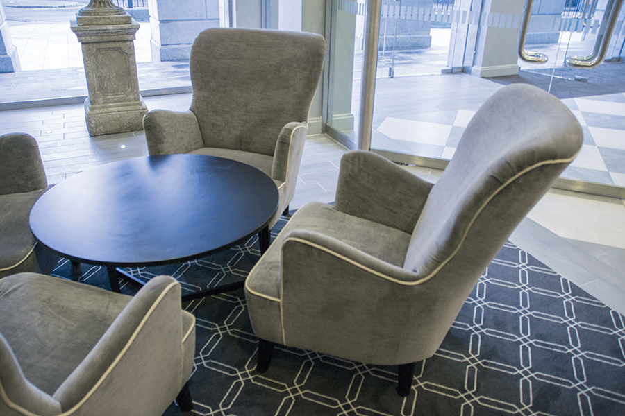 Hotel Lobby - Holly Chairs