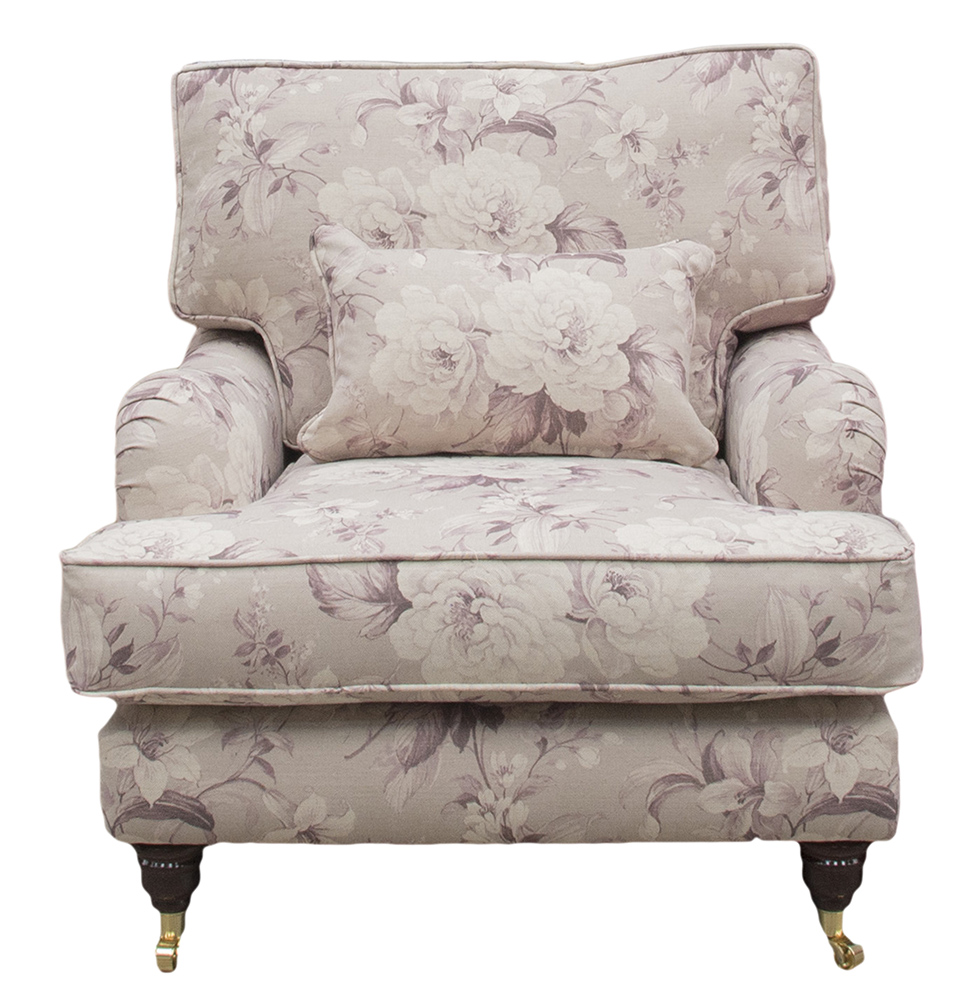 Holmes Chair - Floral New England Damson