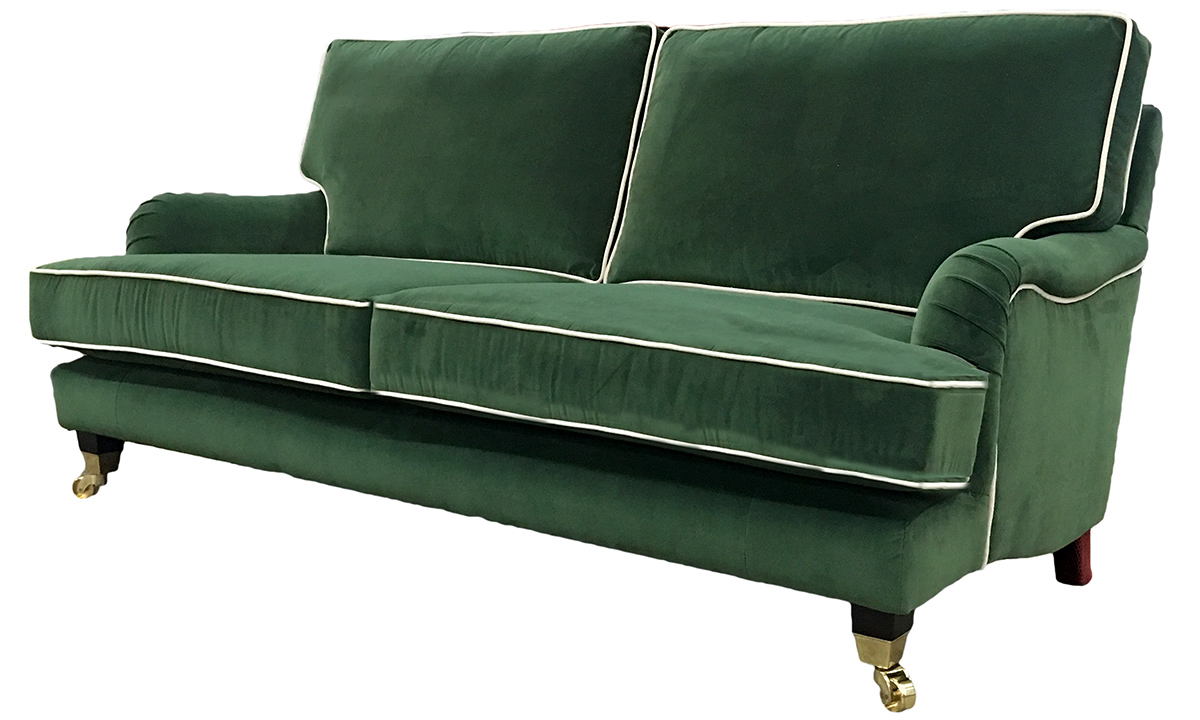 Holmes Large Sofa  in J Brown Monza 14860 Forest Green