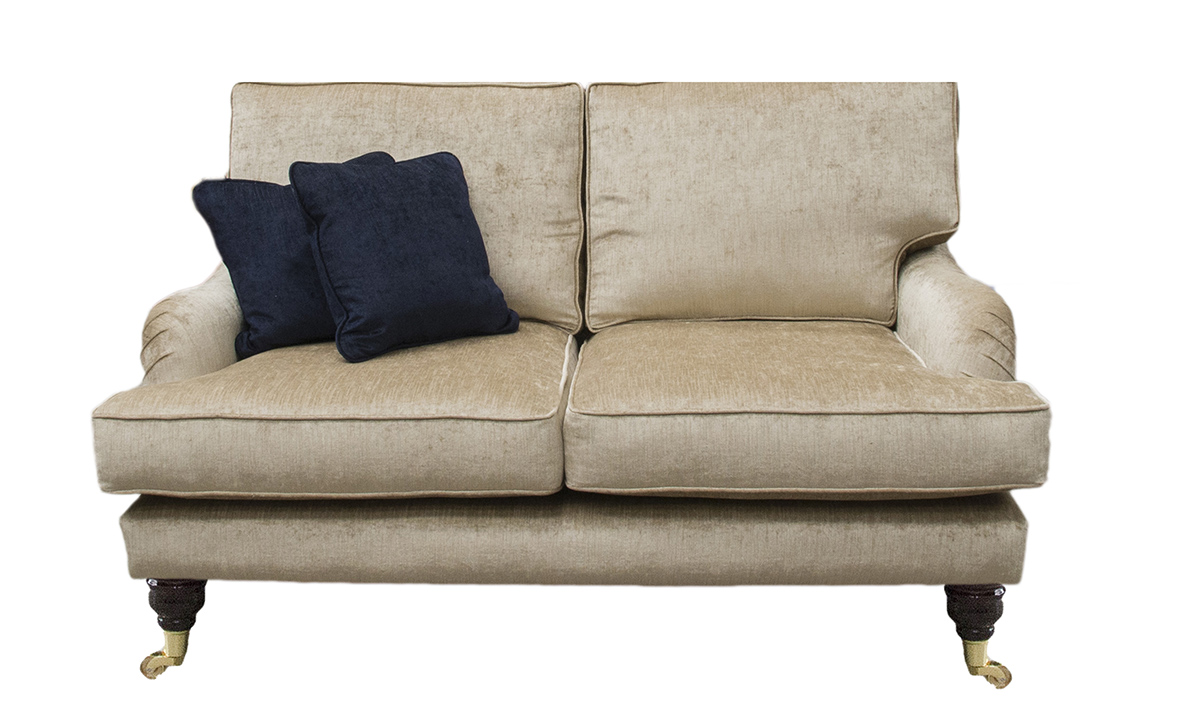 Holmes Small Sofa in Edinburgh Biscuit, Silver Collection Fabric