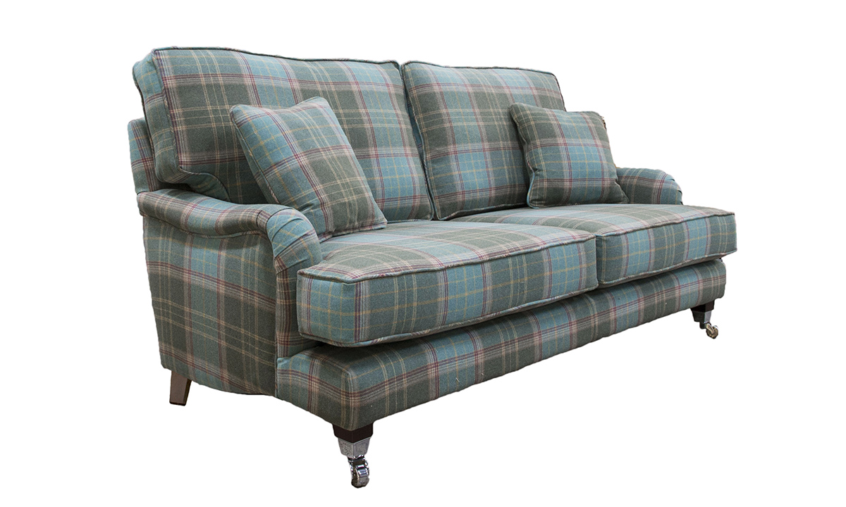 Holmes Large Sofa in Warwick Bainbridge Jade