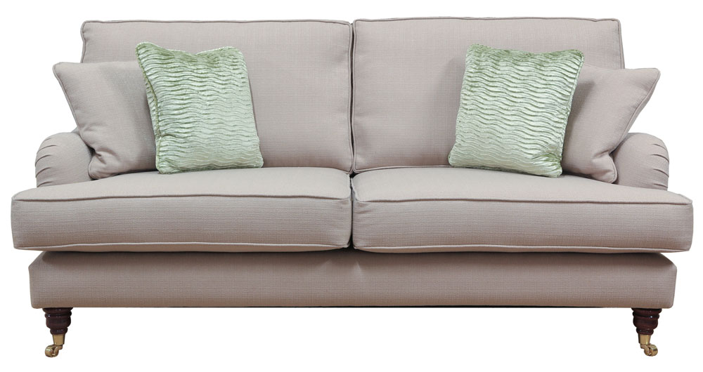 Holmes Large Sofa  Silver Collection