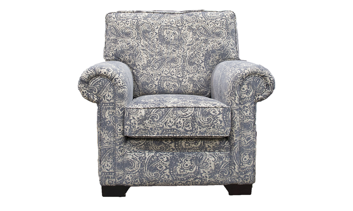 Imperial Chair in a Gold Collection Fabric