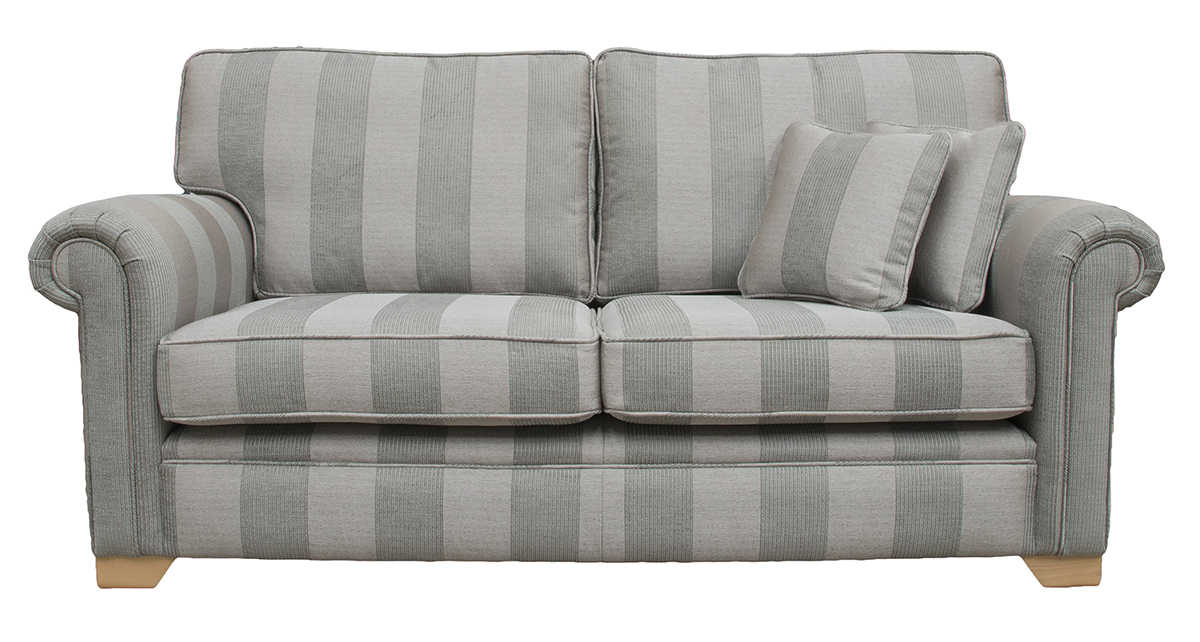 Imperial Sofa - Nebbiolo Stripe Powder