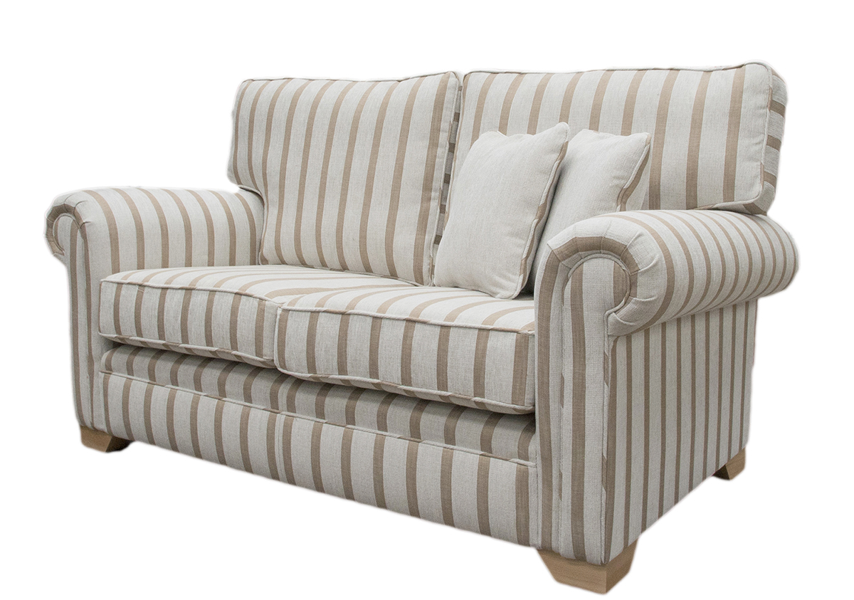 Imperial Sofa Side - Balamir Stripe Ice