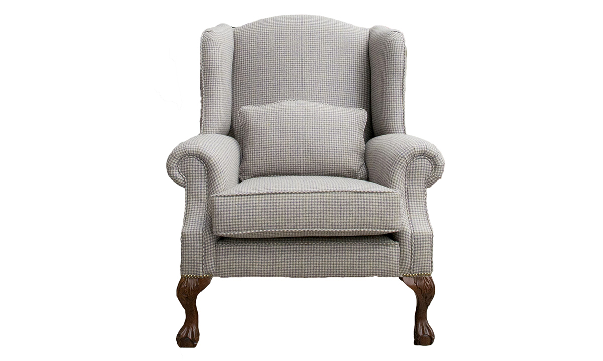 King Chair in Ilkley Col Heather , Art of Loom