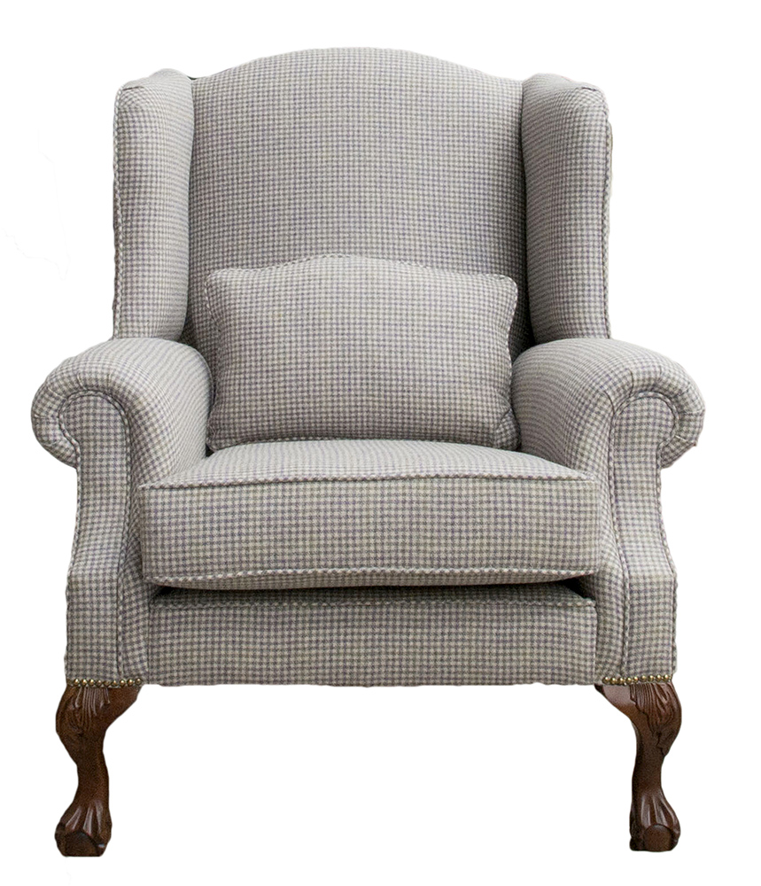 King Chair - Ilkley Col Heather - Art of Loom