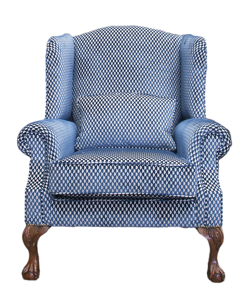 King Chair - Pepino Indigo