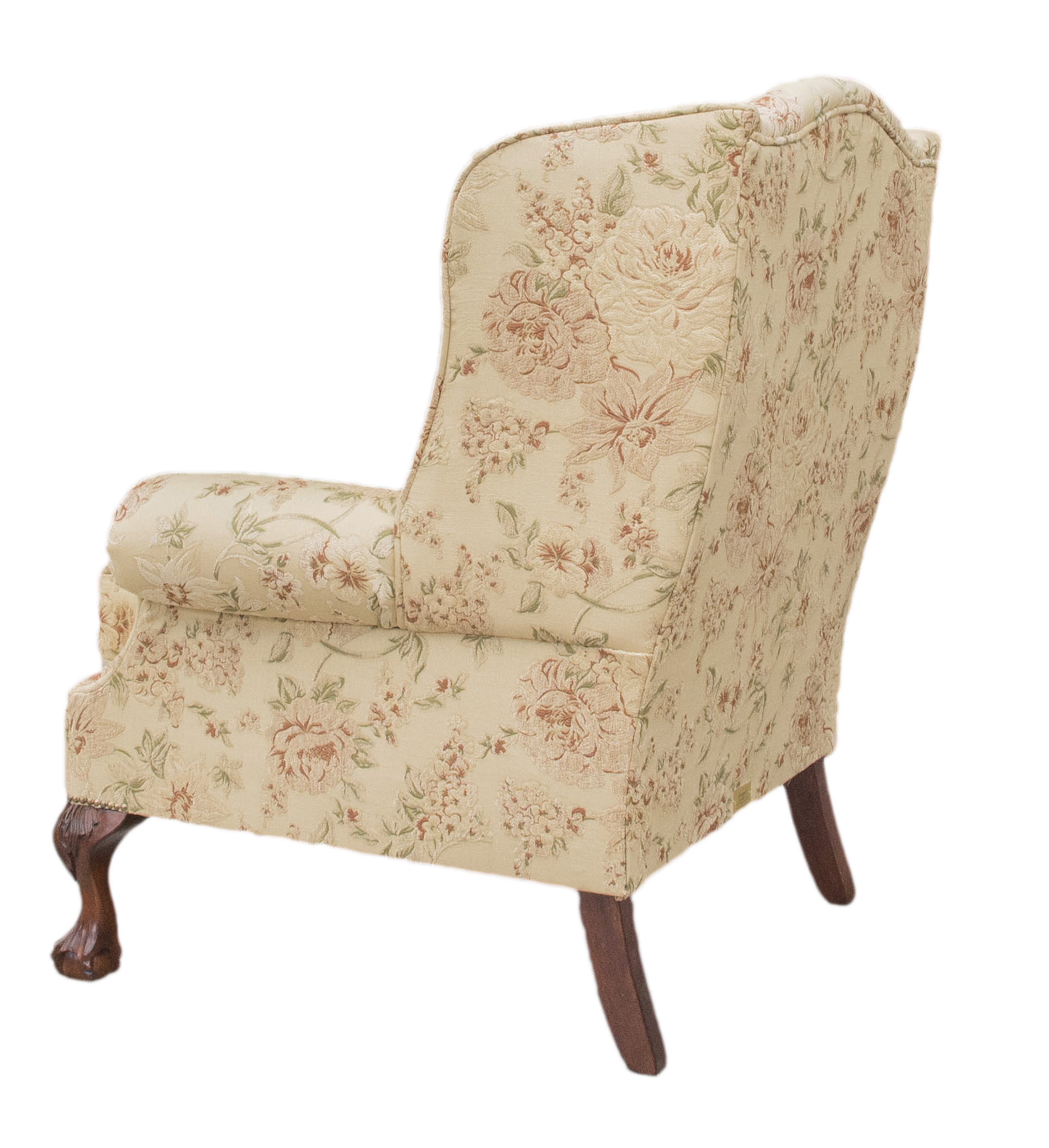King-Chair-Semi-ramis-pattern-Platinum-Collection-back