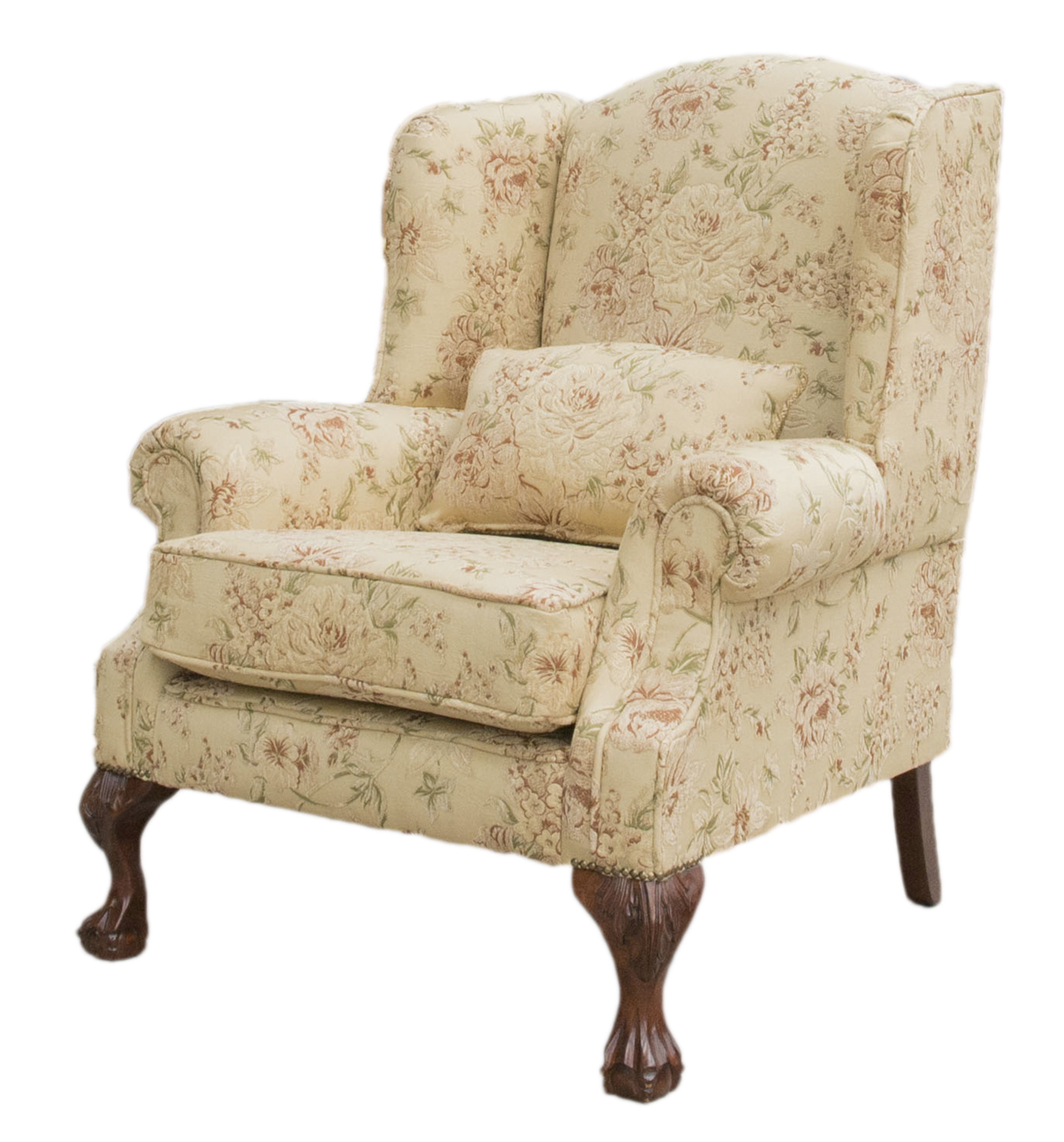 King Chair Semi Ramis Pattern