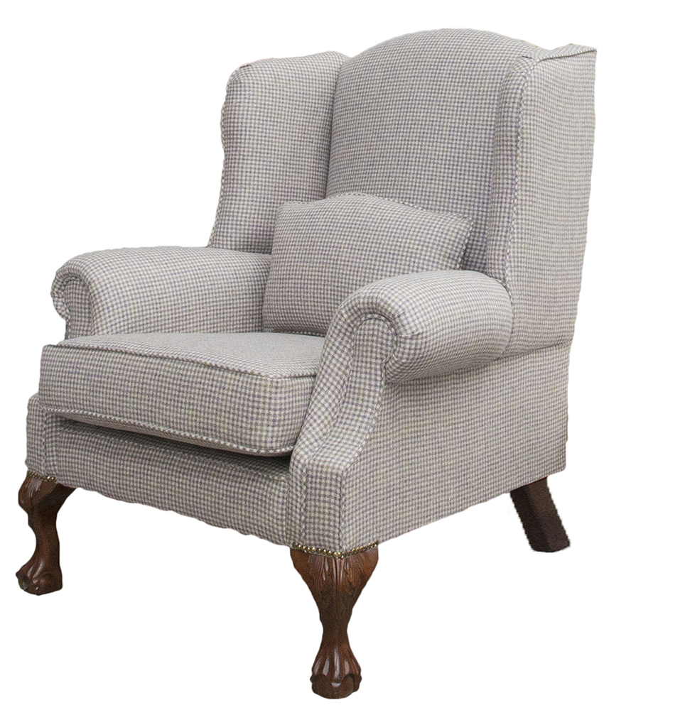King Chair Side - Ilkley Col Heather - Art of Loom