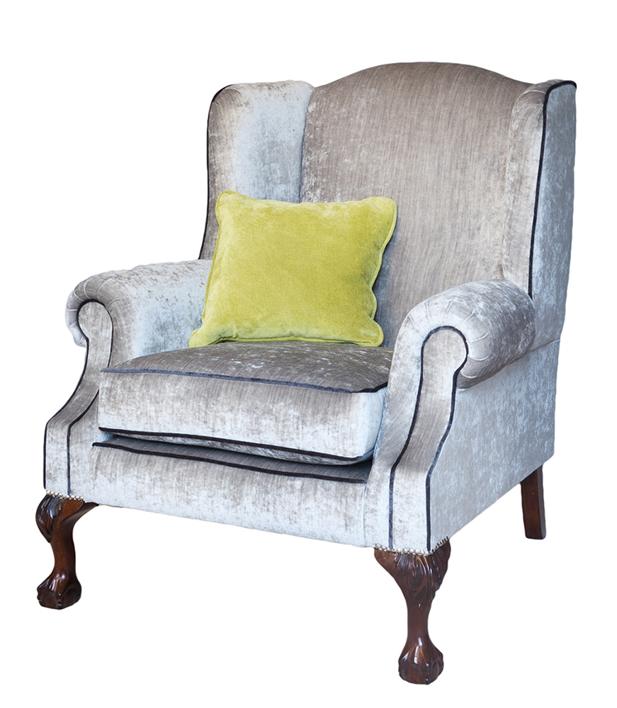 King Chair - Mancini Pewter